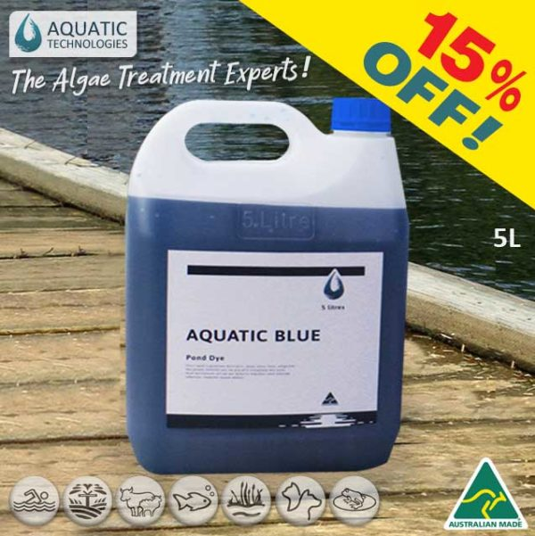 Aquatic Blue Special on NOW!