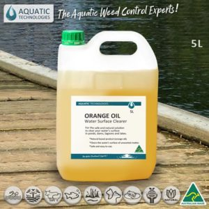 Orange Oil - Water Surface Clearer