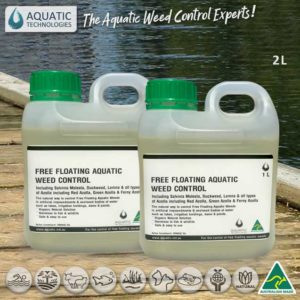 Free Floating Weed Control 2x1L - Twin Pack